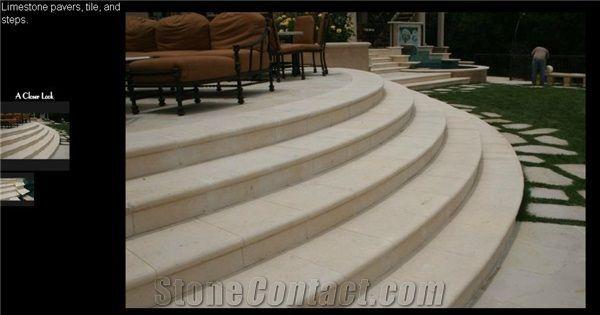 Best Cedar Hill Cream Limestone Pavers Steps Cedar Hill Cream 400 x 300
