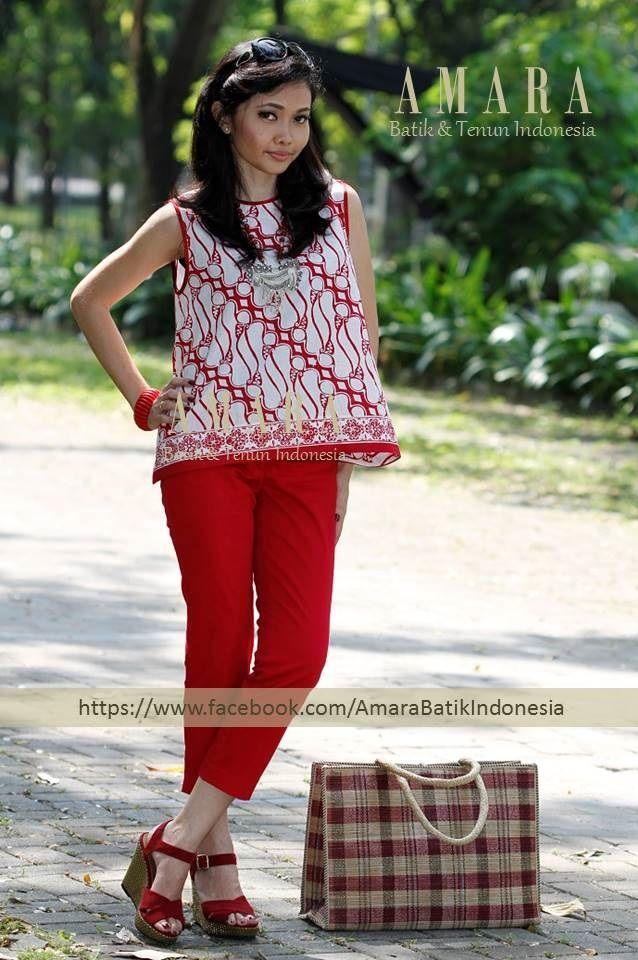 Batik Parang Loose Top