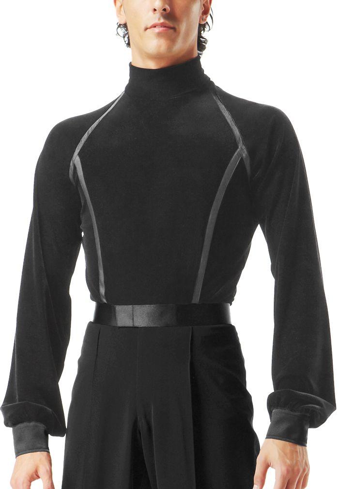 Taka Mens Latin Dance Shirt MS230 | Dancesport Fashion @ DanceShopper.com