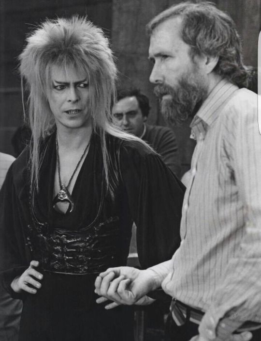 David Bowie and Jim Henson