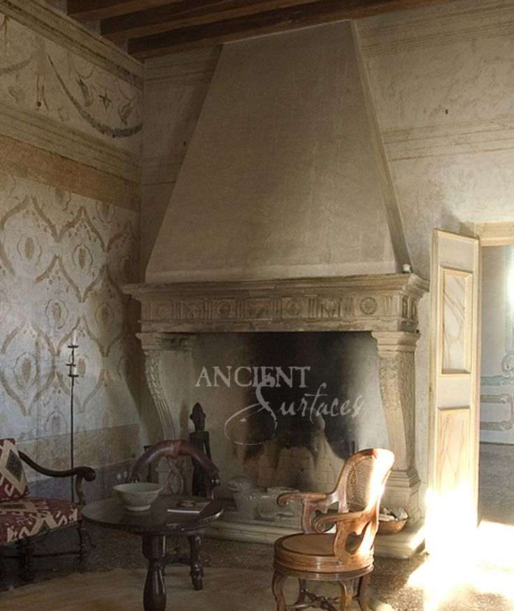 17 best images about in situ antique stone fireplaces on for French country stone fireplace