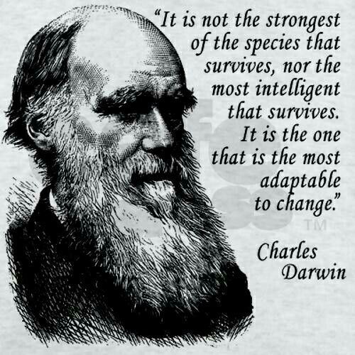 "Darwin Quotes: 17 Best Images About Evolution. Fact. Not 'Theory"" On"