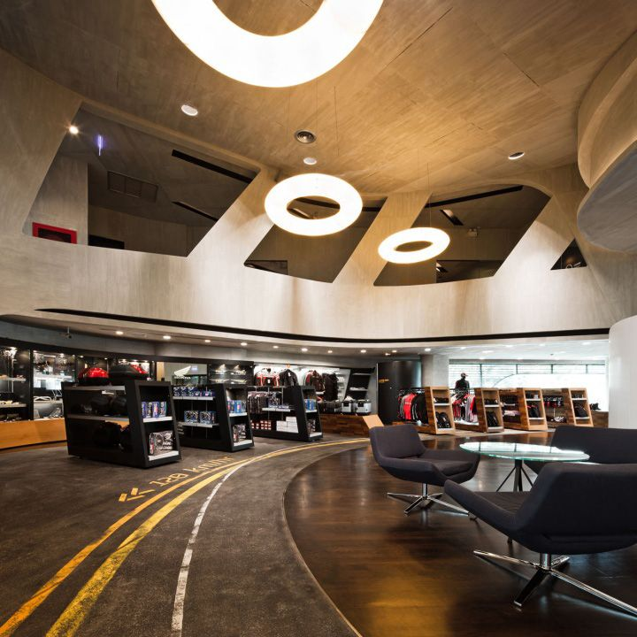Honda BigWing showroom by Whitespace, Thailand store design
