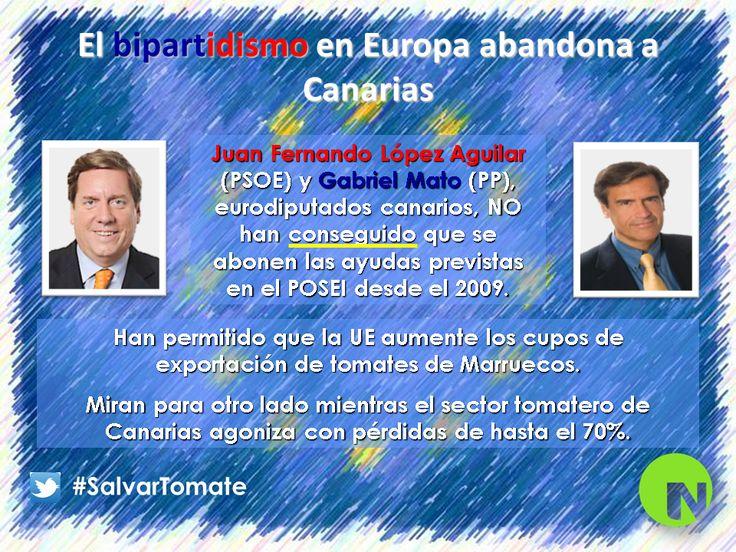 El bipartidismo en Europa abandona a Canarias.