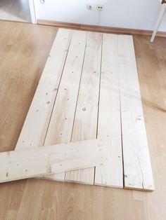 Projet DIY: Une table en panneaux de construction – THEO ET ZAUSEL