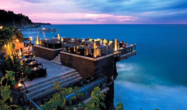 Ayana Resort, Rock Bar, Bali - Address: Ayana Resort, Jl. Karang Mas SejahteraJimbaran, Bali 80364, Indonesia Phone: +62-361-702222