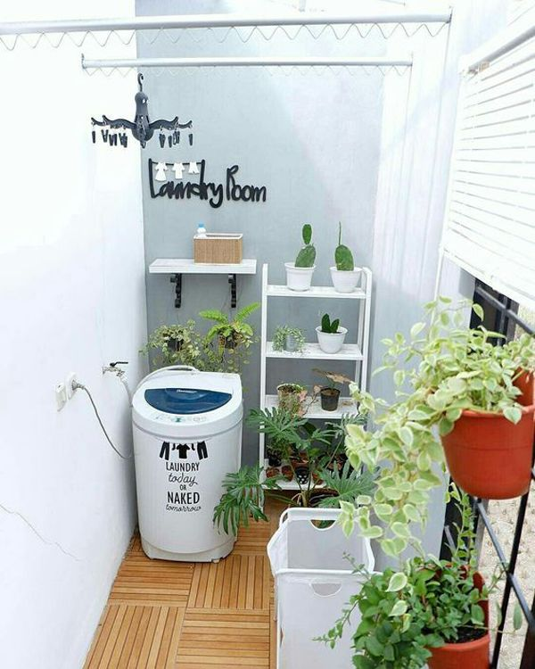 23 Tiny Laundry Room With Nature Touches Desain Ruang Laundry Dekorasi Ruang Cuci Ruang Cuci