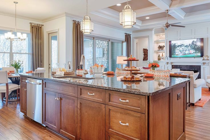 blue cabinets kitchen a beautiful island can be the focal point for a luxurious 1722
