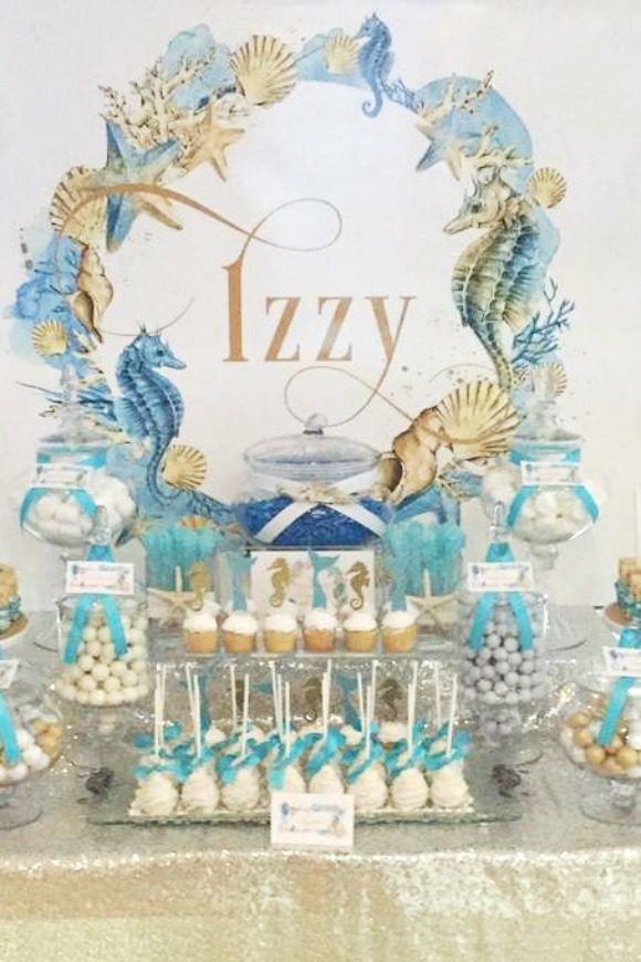 Sweet 16 Ideas Mermaid Catchmyparty Com Catchmyparty