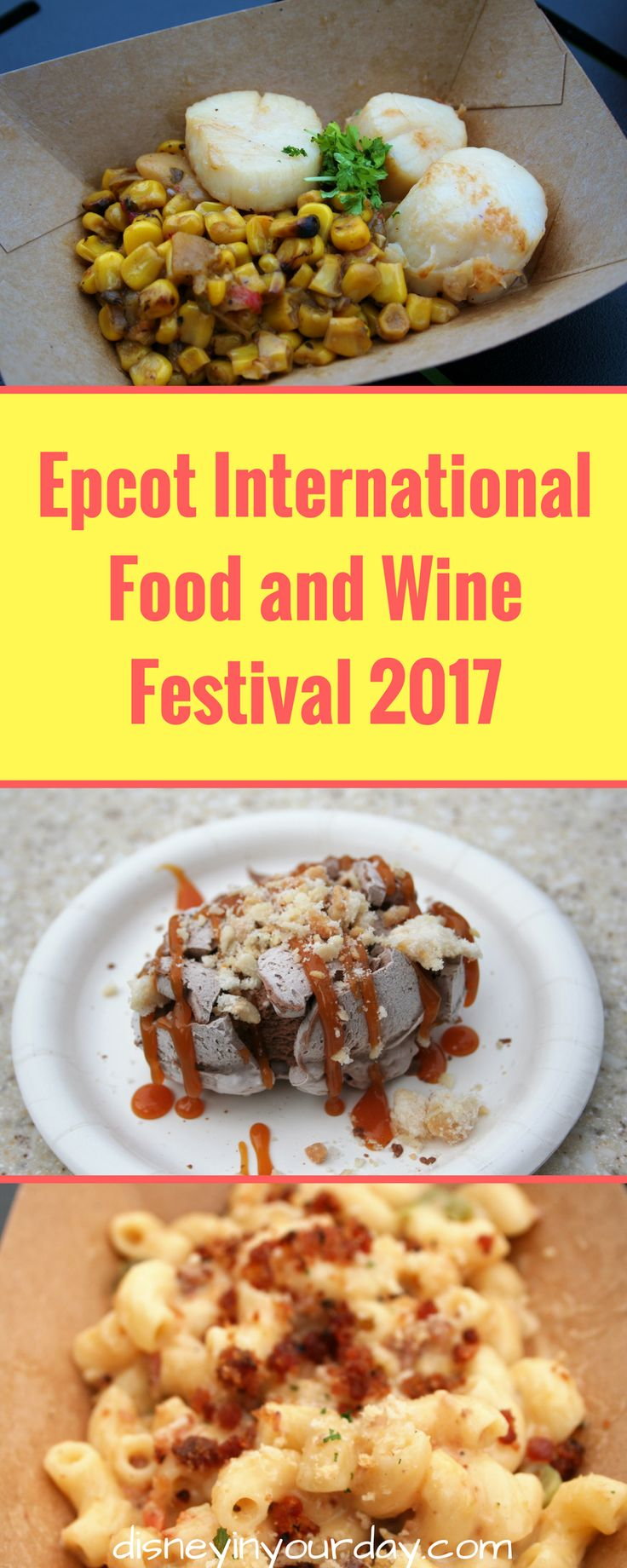 Epcot International Food and Wine Festival 2017 - Disney in your day