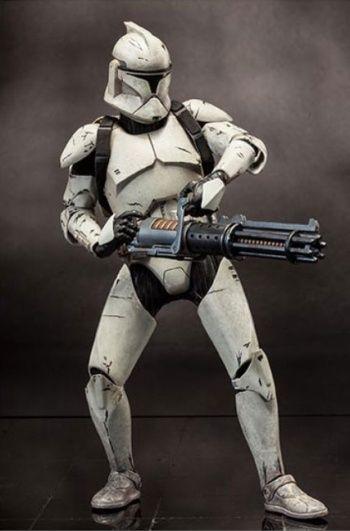 Clone trooper veterano dlx fig 30 cm #StarWars #Sideshow sixth scale figure - RESERVA -