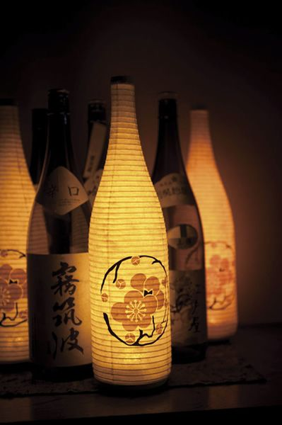 Paper lanterns by SUZUMO, Japan