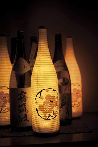 Paper lanterns by SUZUMO, Japan