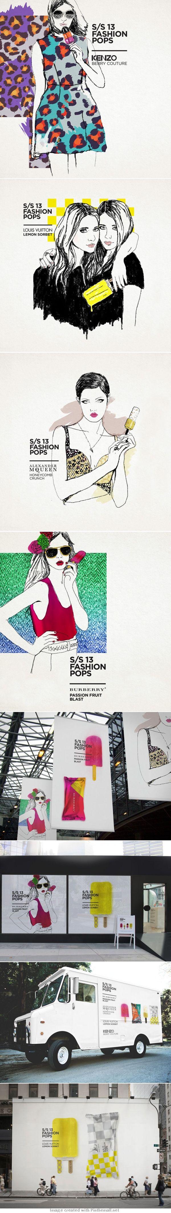 Spring Summer 13 Fashion Pops