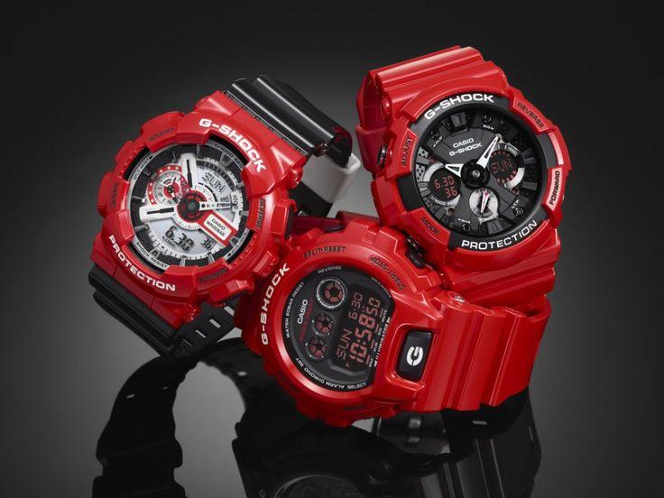 G-SHOCK presenta la nueva colección Solid Red, el rojo en su máxima expresión - https://webadictos.com/2016/05/11/g-shock-coleccion-solid-red/?utm_source=PN&utm_medium=Pinterest&utm_campaign=PN%2Bposts
