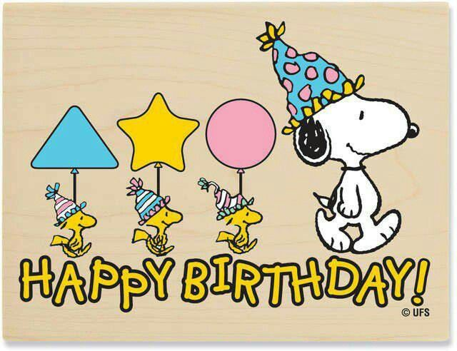 Snoopy And Woodstock, Happy Birthday Quote