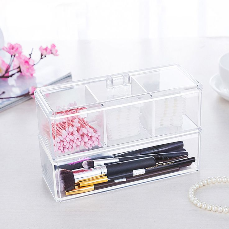 Now available on our store: Acrylic Makeup Or... Check it out here! http://www.maneandthread.com/products/acrylic-makeup-organizer?utm_campaign=social_autopilot&utm_source=pin&utm_medium=pin