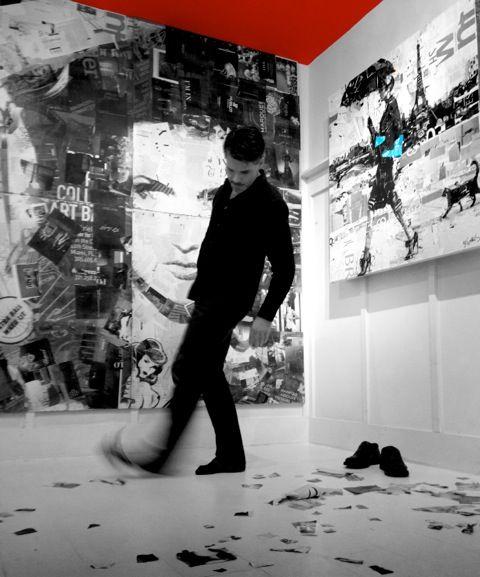 Derek Gores - Melbourne, FL Artist - Collage Artists - Artistaday.com