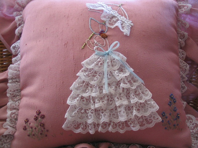Crinoline Lady Cushion