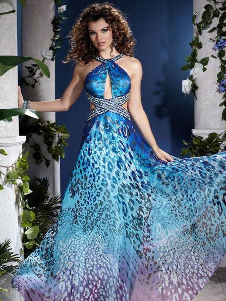 zebra dress   Inicio > Vestidos Ceremonia > vestidos de noche > Zebra Print vestido ...