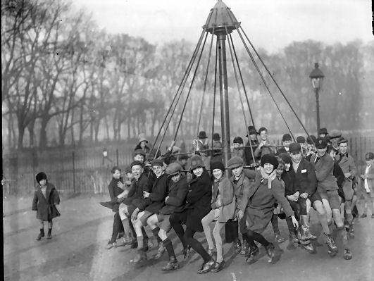 The 1929 Launch Of The Playground Espaces De Jeux