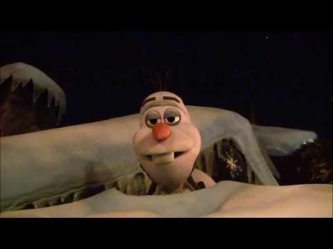 FULL Video of Olaf Sleeping Opening Night of Frozen Royal Reception New Meet & Greet for Anna & Elsa