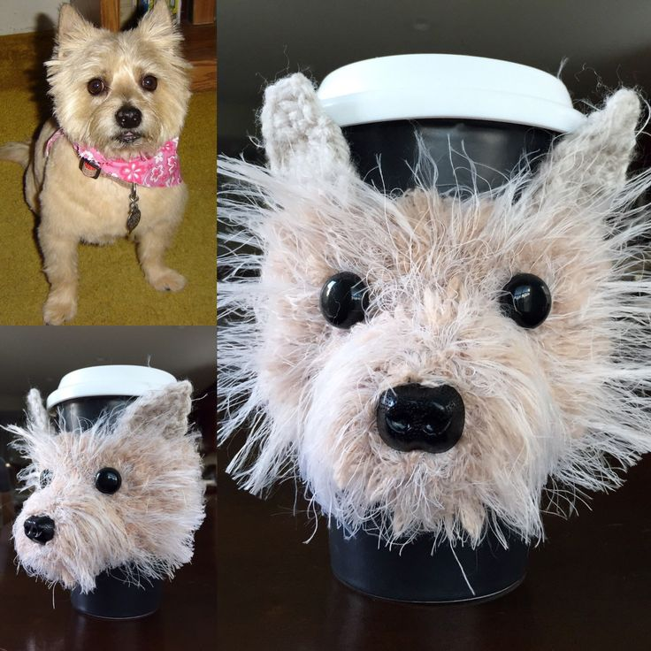 Cairn Terrier Mug Cozy, Dog Mug Cozy, Dog Cup, Dog Coffee Sleeve, Custom Dog Mug - pinned by pin4etsy.com