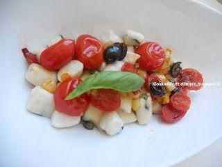 Kiosko di frutti di bosco: Gnocchetti di ricotta senza uova