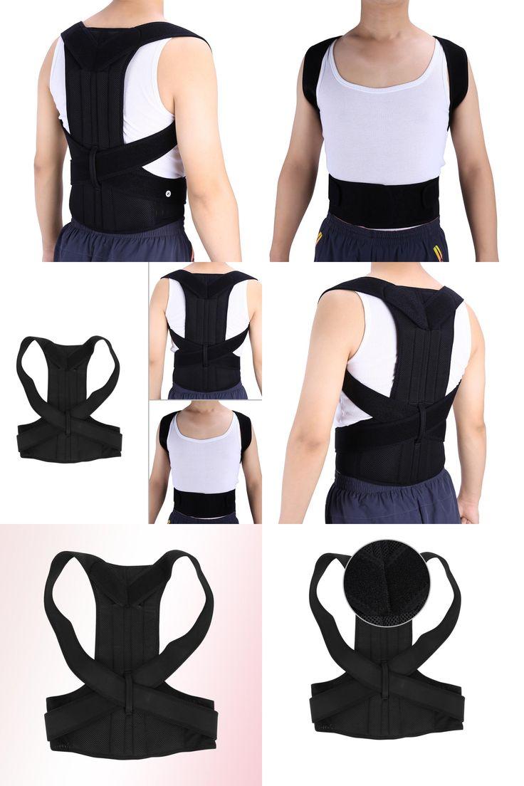 [Visit to Buy] Unisex Adjustable Back Posture Corrector Brace Back Shoulder Support Belt Posture Correction Belt for Men Women S-XXL Belt Healt #Advertisement