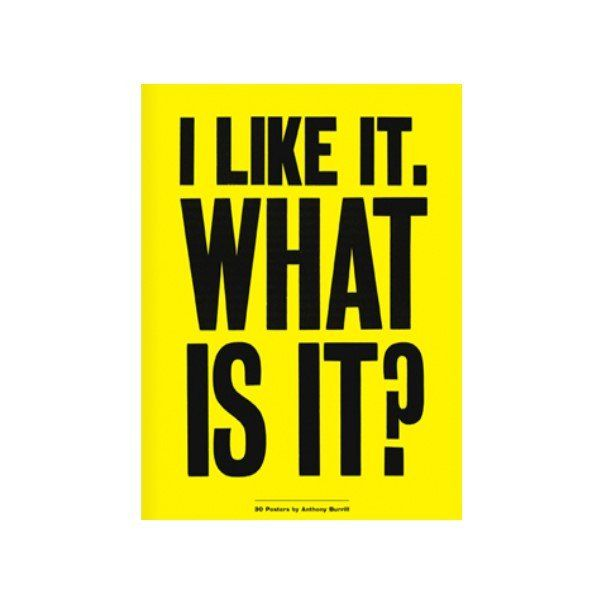 I Like It. What Is It? Poster Book