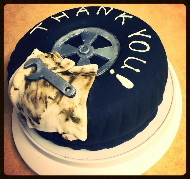 Mechanics tire cake