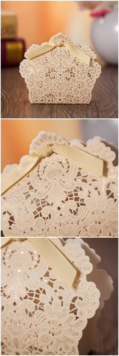 elegant laser cut boxes for wedding favor ideas EWFB130