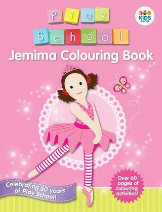This exciting new colouring book is full of pictures of Play School favourite, Jemima! Hours of holiday colouring fun!