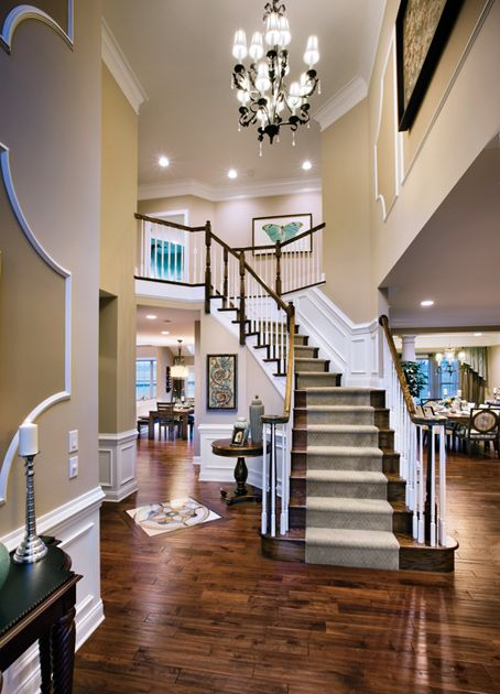 Model Home Foyer Pictures : Ideas about toll brothers on pinterest new homes