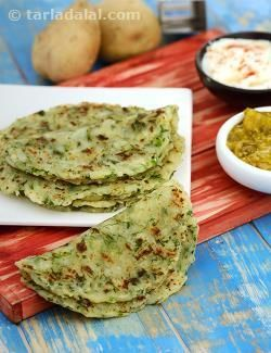 The addition of boiled and grated potatoes makes these rotis so soft that they literally melt in your mouth! plus, potato rotis is also a smart way to clear your stock of potatoes, because this recipe turns out best with old potatoes.