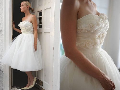 69 best Short Wedding Dress images on Pinterest