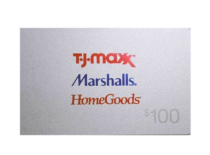 Coupons giftcards tj maxx marshalls homegoods gift card