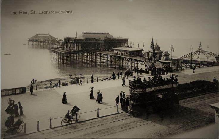 St Leonards Pier East Sussex C1900(Digital Image)