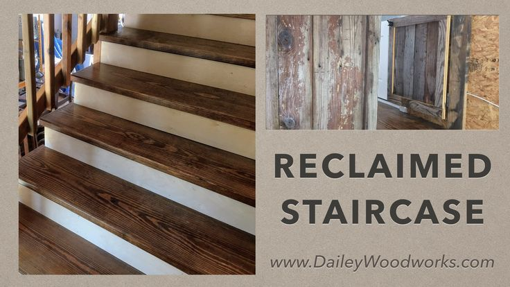 Best Rustic Pine Staircase Reclaimed Pine Staircase And 400 x 300