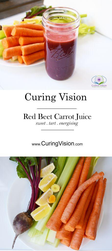 Red Beet Carrot Juice Recipe: Drinking fresh pressed vegetable juice is an easy ...