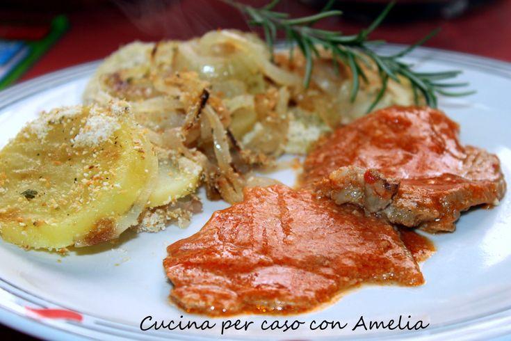 Arrosto in salsa rossa, ricetta