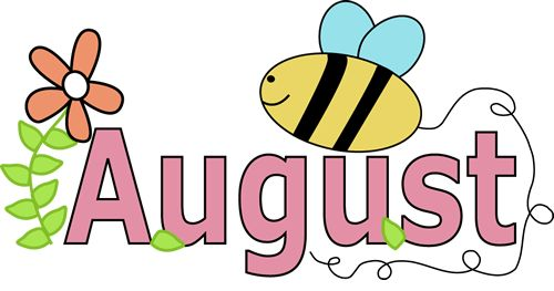 Month of August Summer | Clip Art-Months | Pinterest