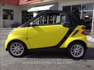 Yellow Smart Fortwo Passion http://www.iseecars.com/used-cars/used-smart-for-sale