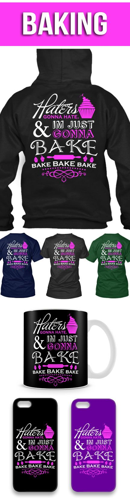 I'm Just Gonna Bake Shirts! Click The Image To Buy It Now or Tag Someone You Want To Buy This For.  #baking
