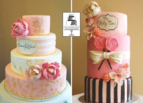 4 Michelle: Pink Cupcake, Sweet, Pretty Cake, Cake Ideas, Wedding Cakes, Girly Cake, Beautiful Cakes, Pink Cake, Gorgeous Cake