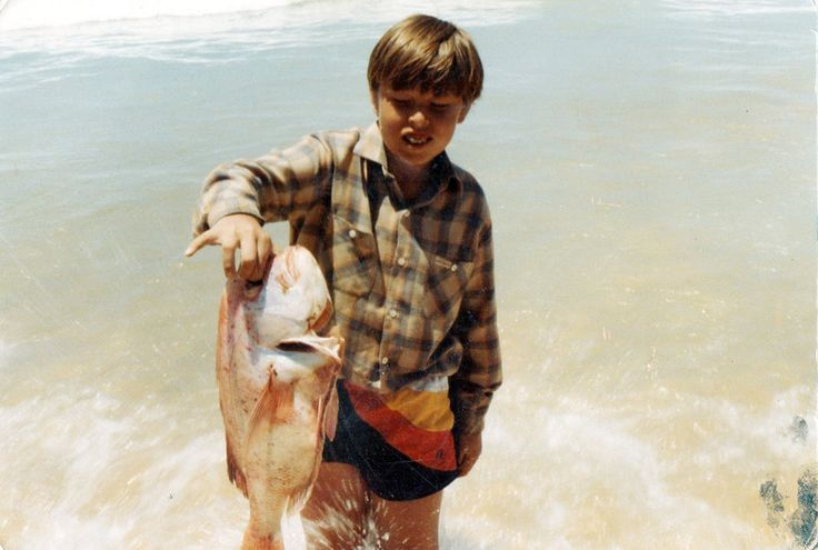 "Courtesy Errol Musk -- According to Errol Musk, his son Elon was quite the accomplished fisherman. Elon is pictured here at age 11 or possibly 12 years of age holding a ""Red Roman,"" a fish he caught on a family fishing trip in South Africa."