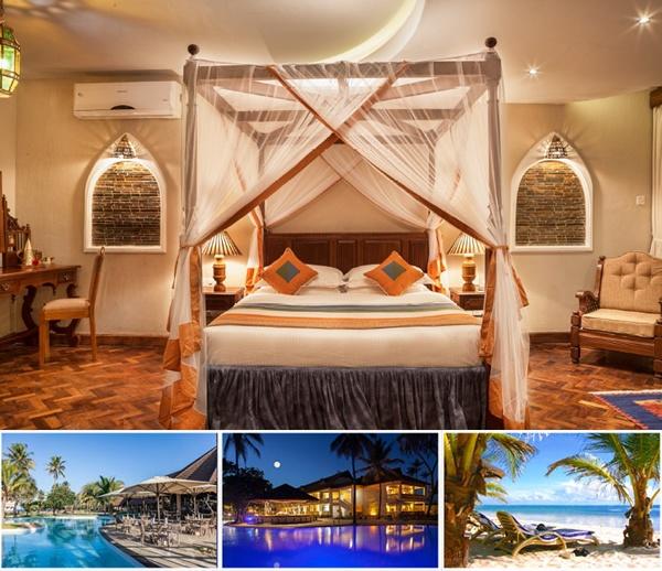 Amani Tiwi Beach Resort, Kenya