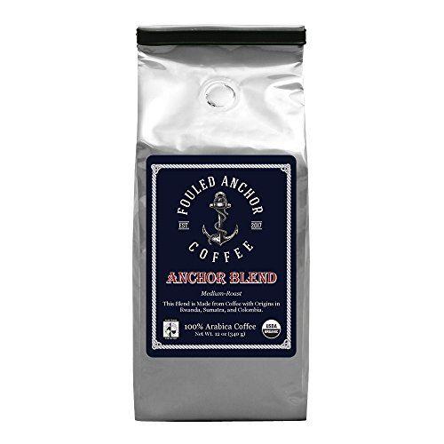 Coffee Organic Ground Arabica Bean Medium Roast Fair Trade, Great in Reusable K Cups, Kuerig Machines, Drip Coffee Makers, Bunn Coffee Machines, Pour Over Coffee, Small Batch Roasted 12 oz. bags
