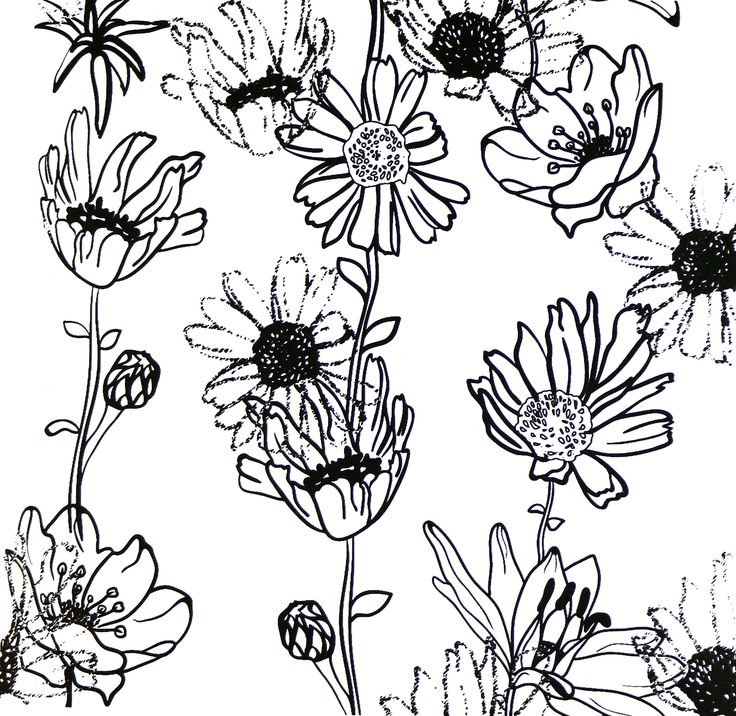 Printed using the Screen Sensation + Botanical screen