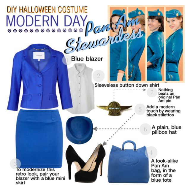 Do-It-Yourself Halloween Costume: Pan Am Stewardess by missilanah